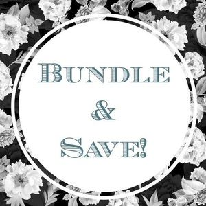 Bundle 3 or more and save 20% off